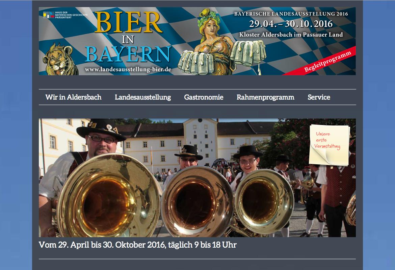 Screen Landesausstellung Bier 2016